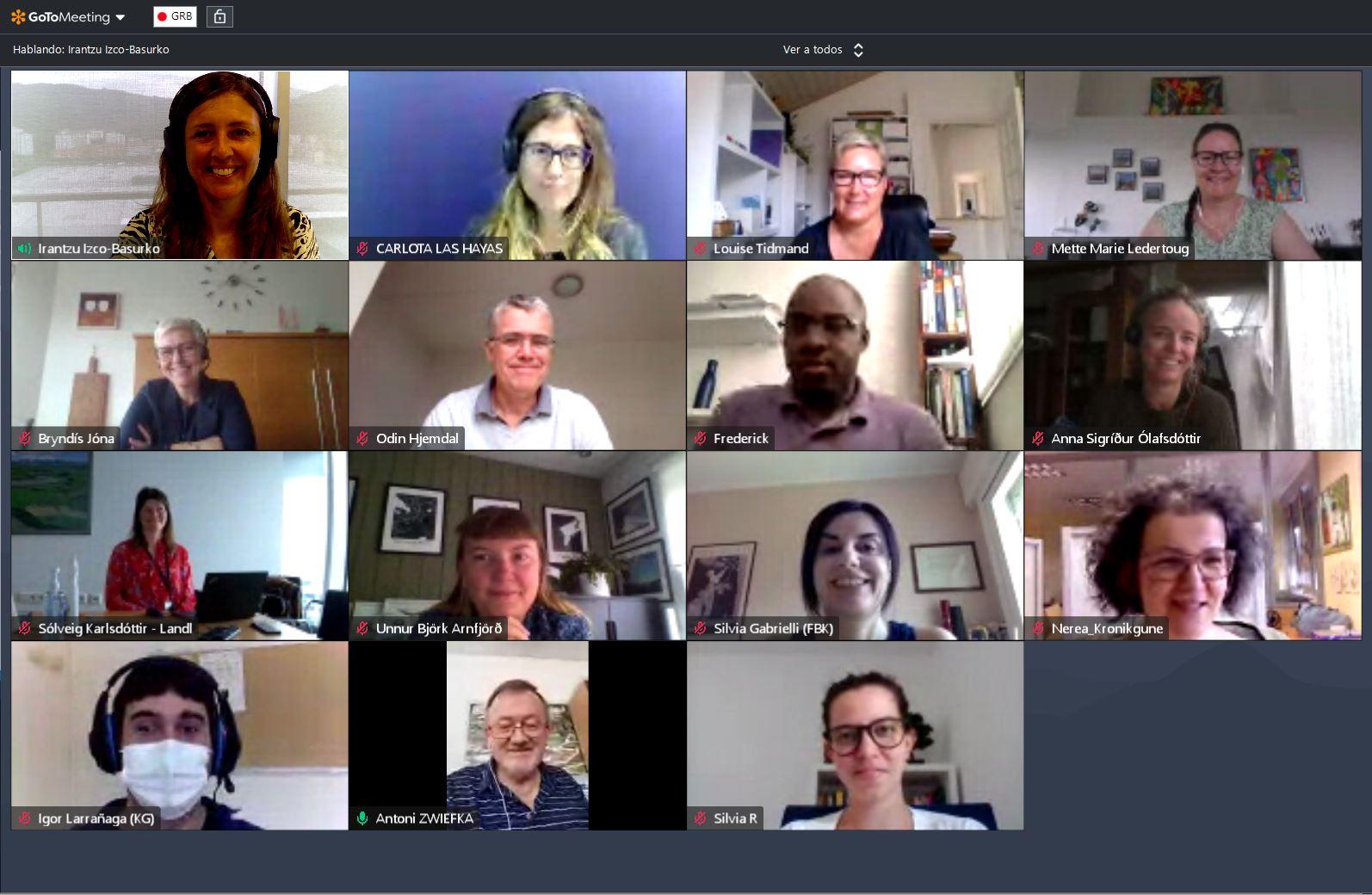 6th consortium meeting